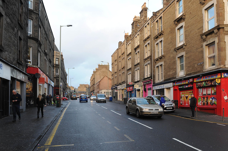 Albert Street in Dundee