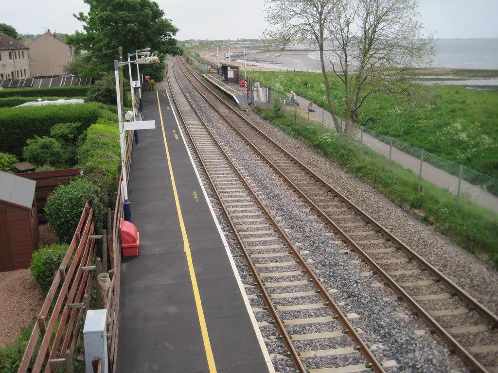 Balmossie Railway Station.