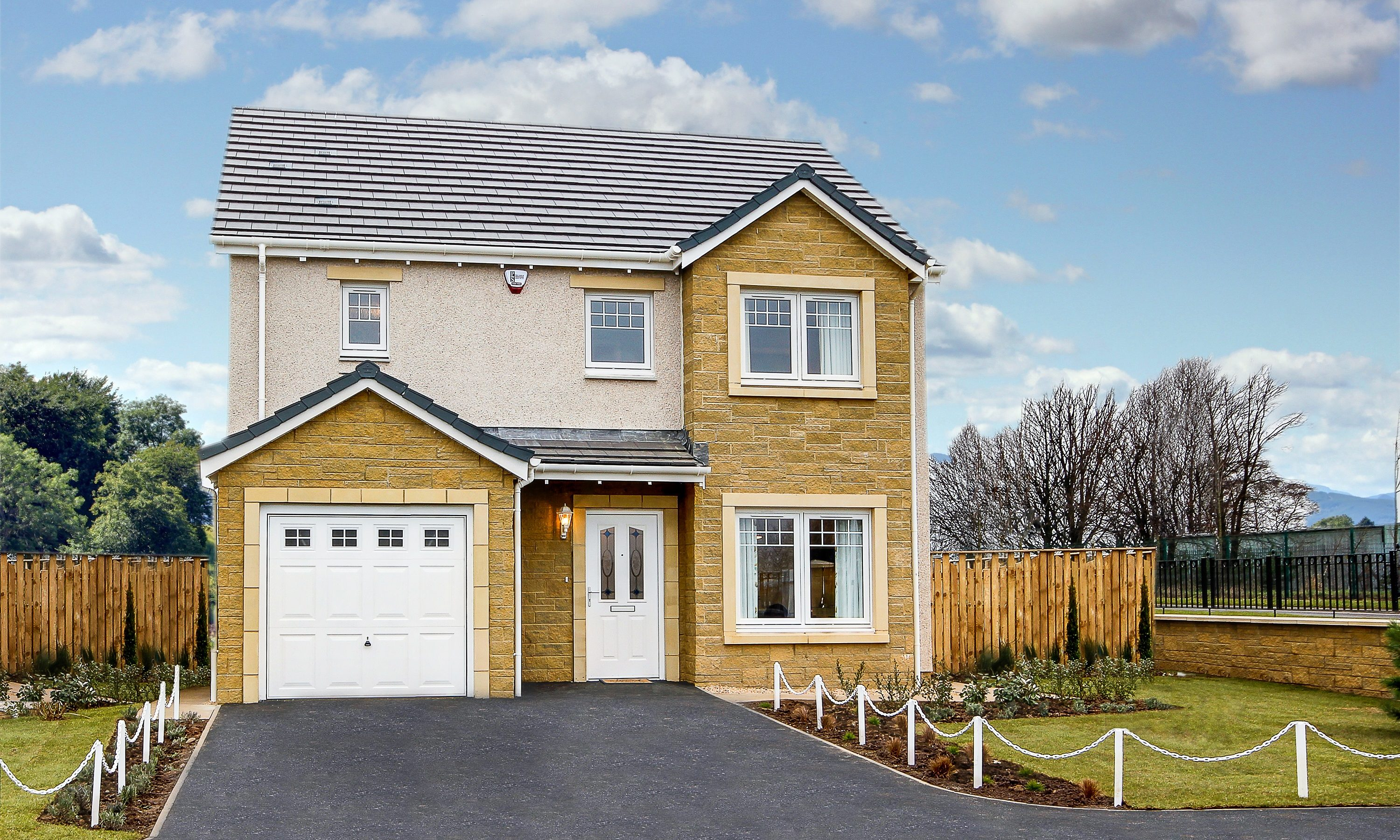One of Muir Homes' properties at its Leven development