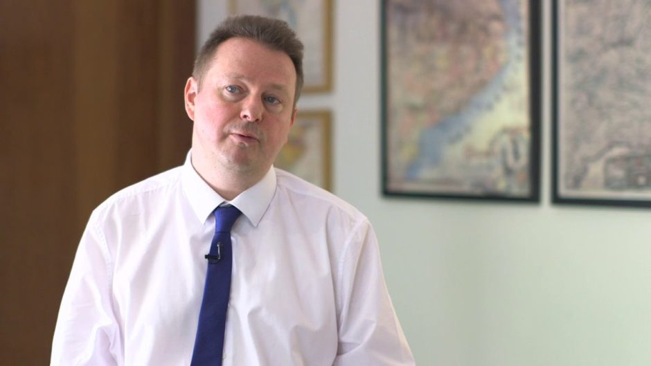 Dr Tim Wilson, director of Centre for the Study of Terrorism and Political Violence at St Andrews University