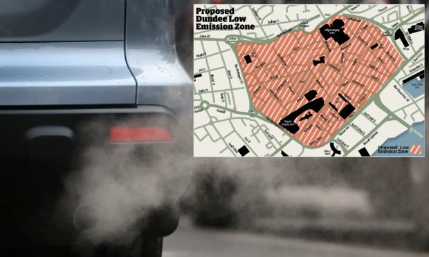 The Scottish Government wants to create Low Emission Zones (LEZ) in all four of Scotland's major cities by next year.