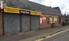 Dennis's shop on Montrose Street, Brechin.