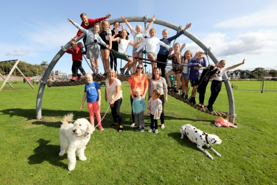 The residents of Anstruther saved Bankie Park from part of it being turned into a care home.