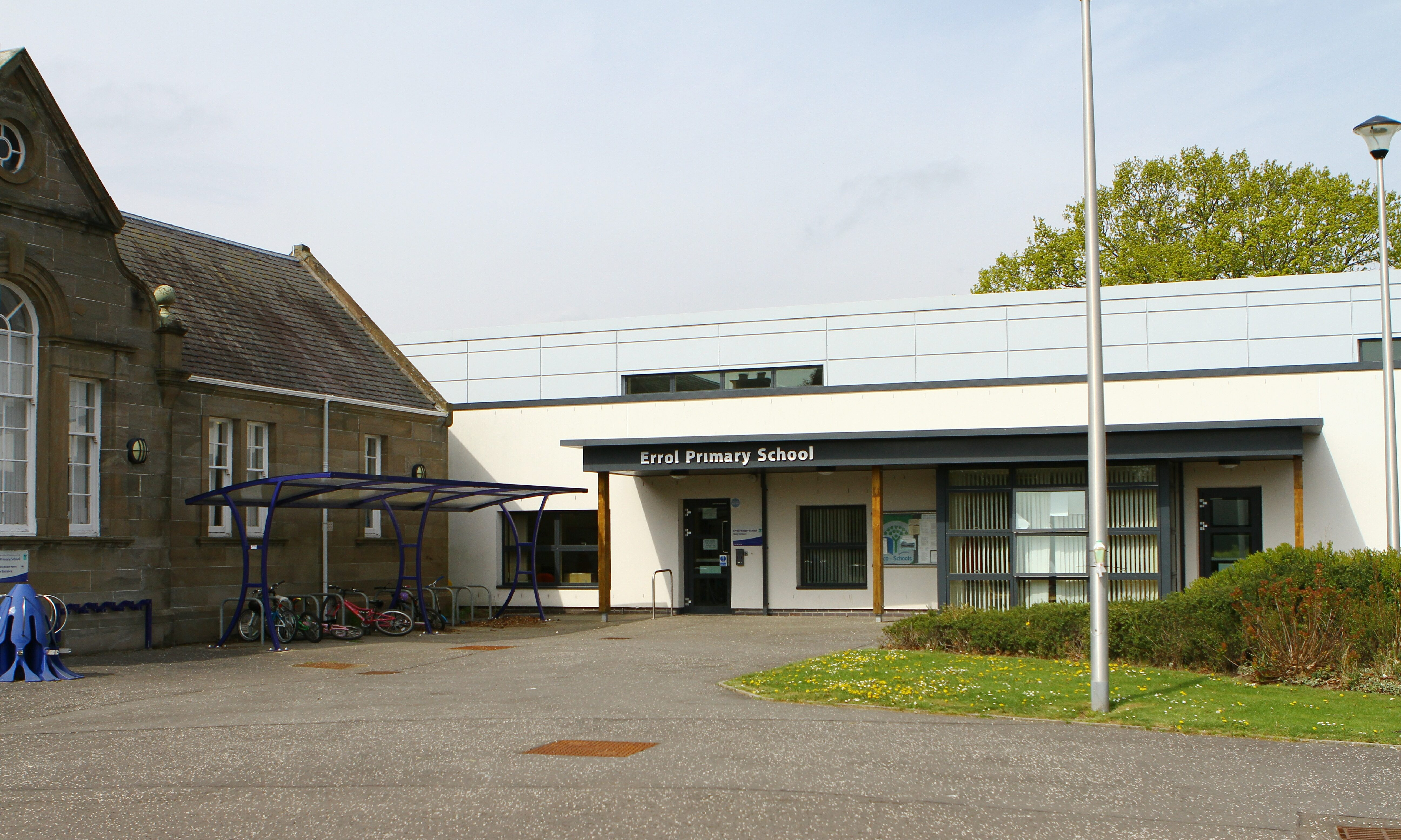 The club is based at Errol Primary school.