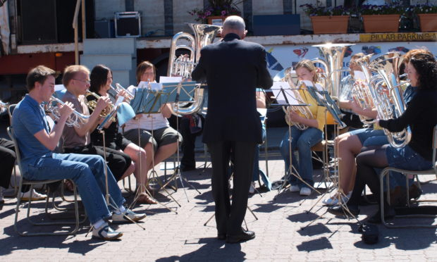 The Montrose Town Band play MoFest