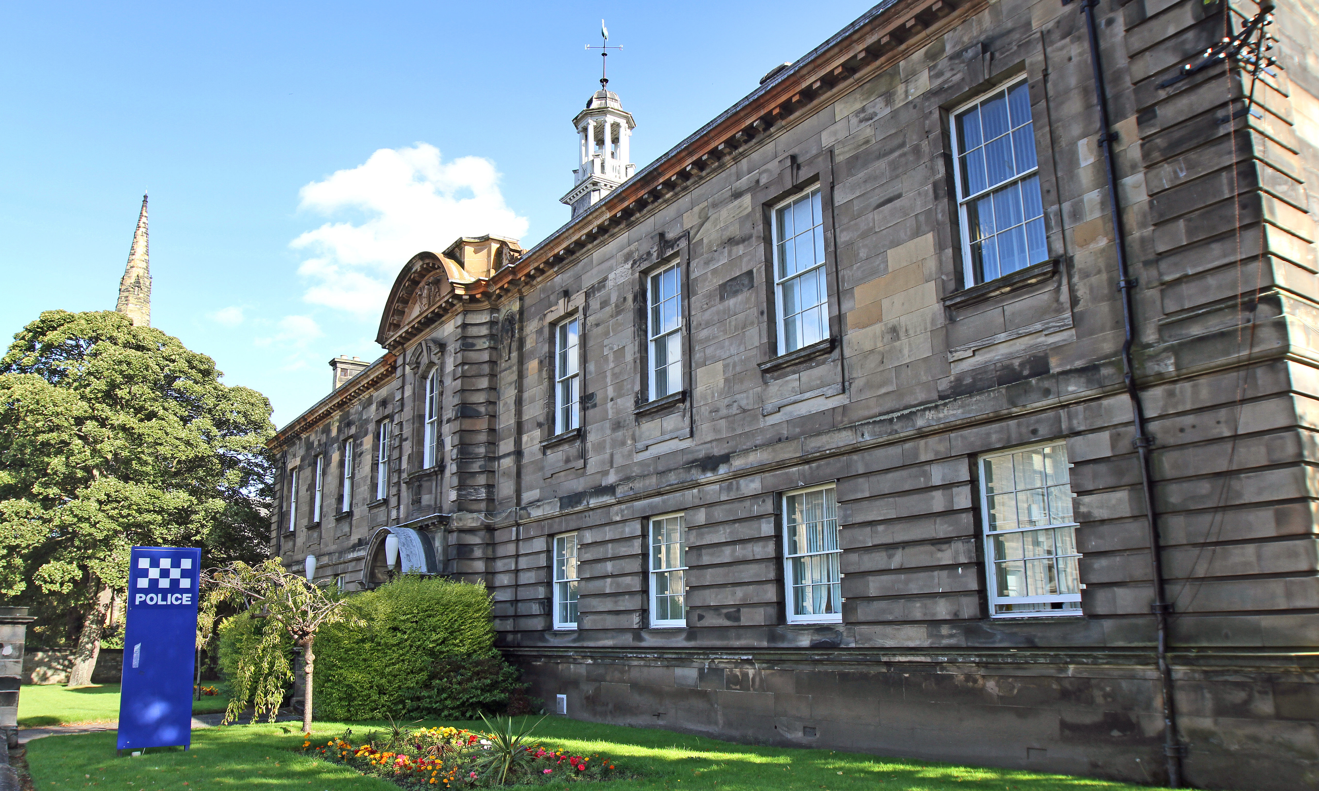 Kirkcaldy Sheriff Court annexe.