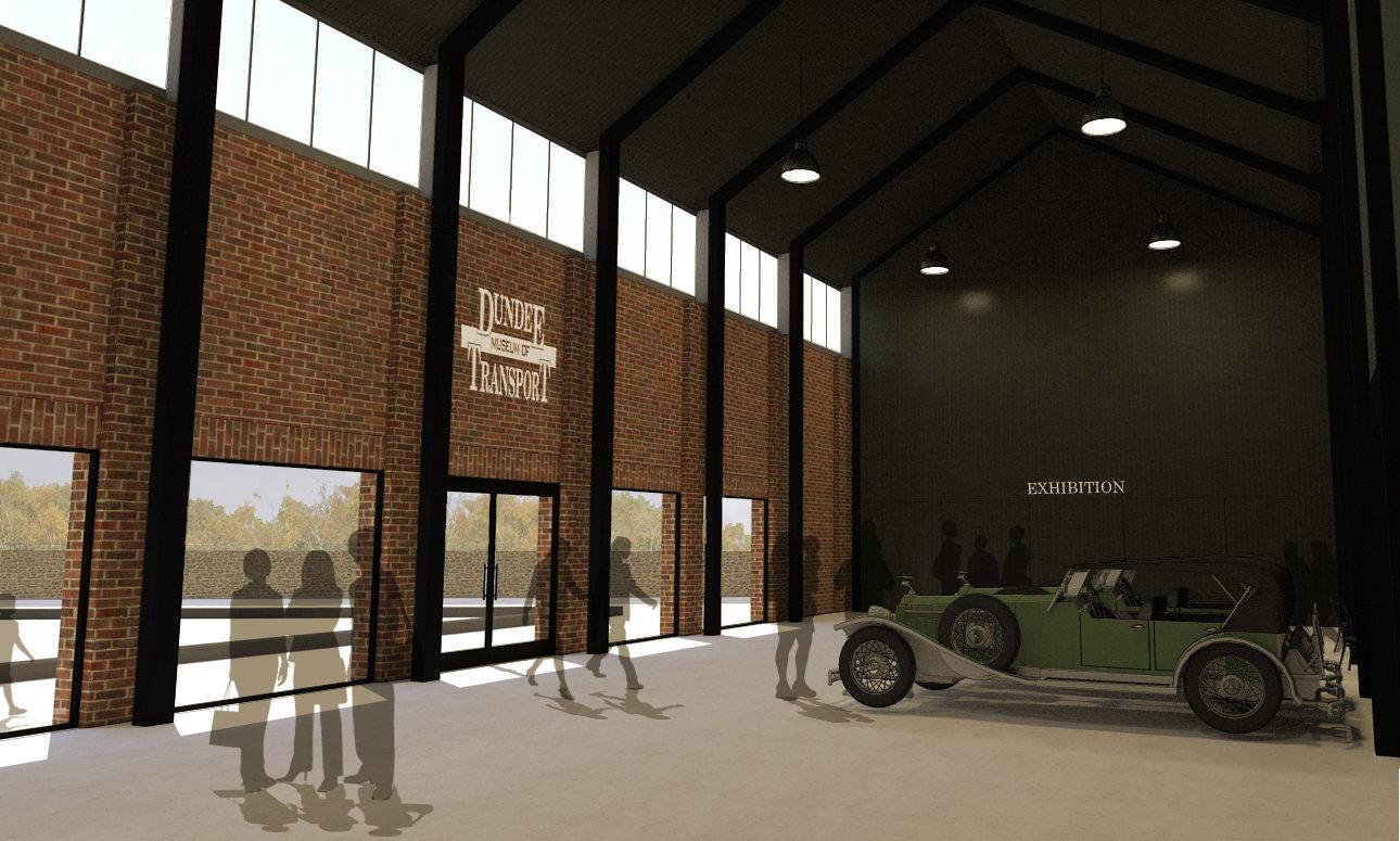 The new design features an internal courtyard