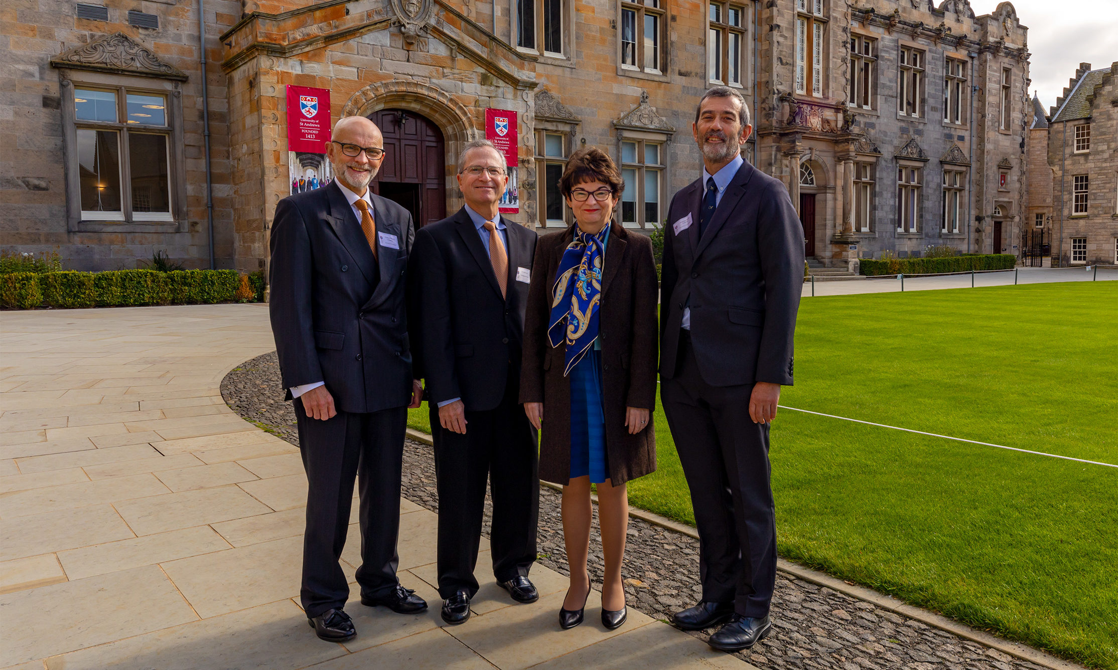 Professor David Crossman, Dr Daniel Levy, Professor Sally Mapstone, Professor Frank Sullivan