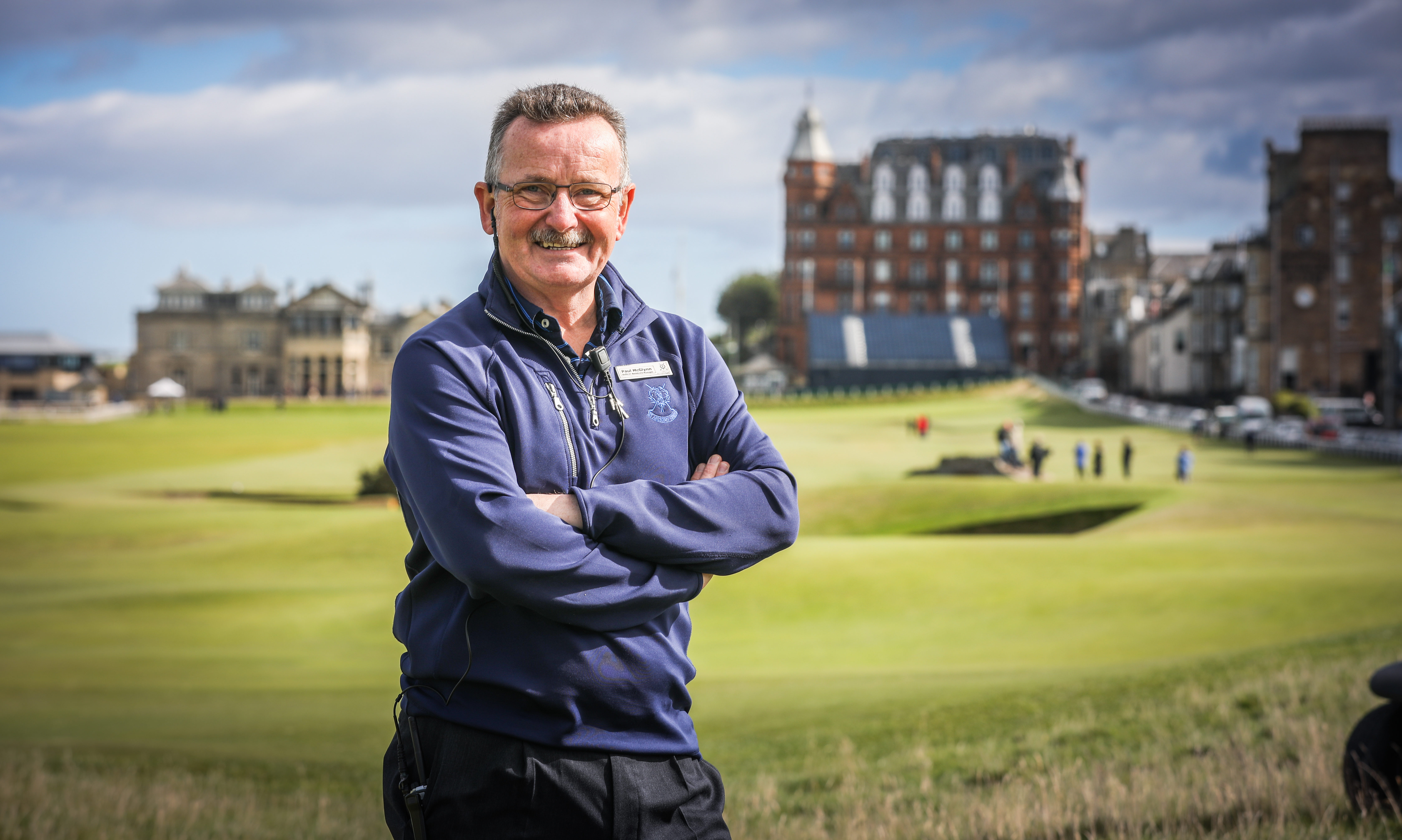 Paul McGlynn is chief marshal at the 2019 Alfred Dunhill Links Championship