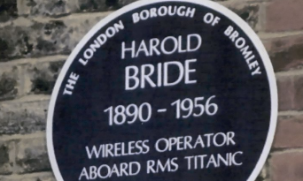 A memorial for Harold Bride has been proposed.