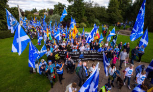 The All Under One Banner march in Perth last year.