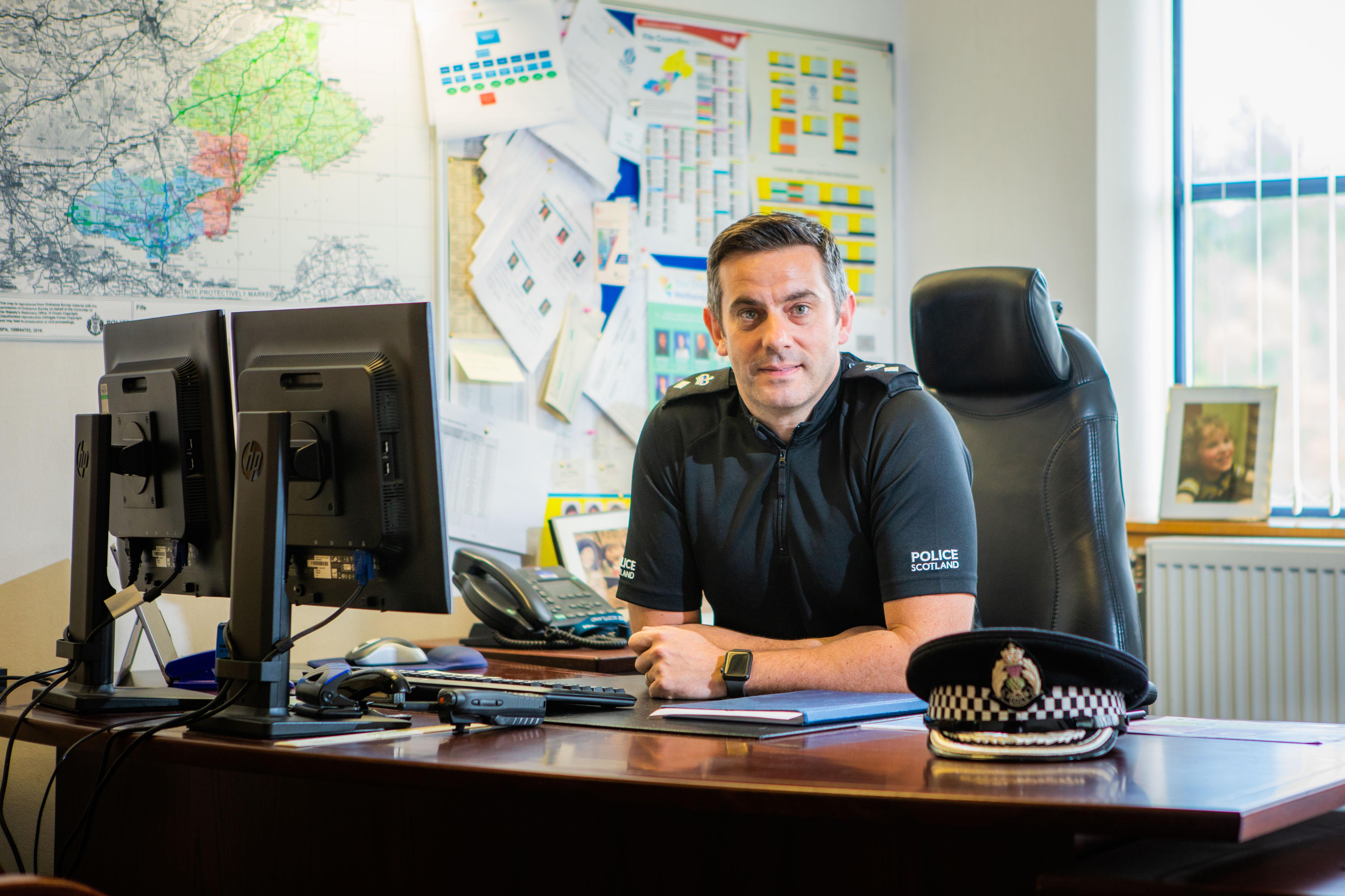 Chief Superintendent Derek McEwan.
