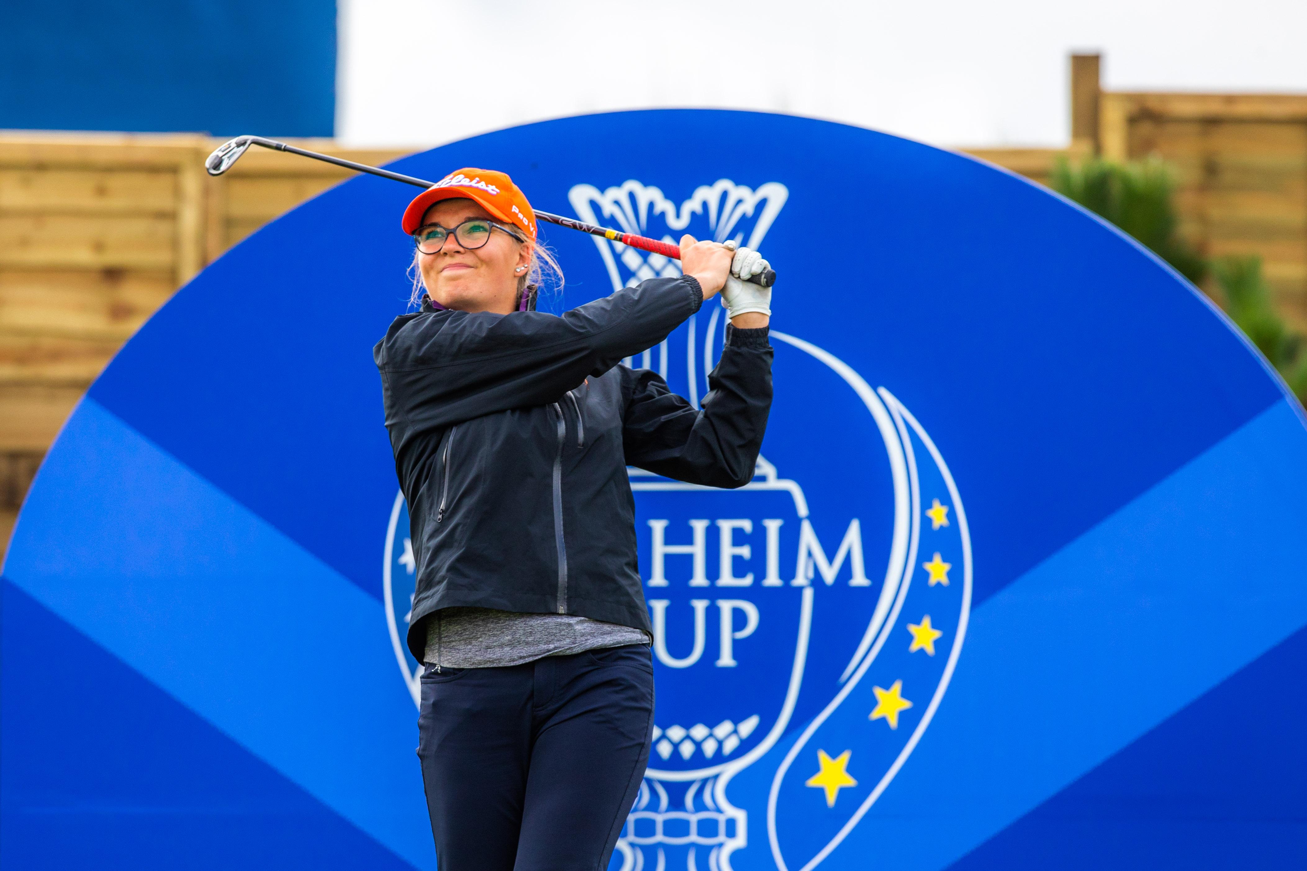 Daphne Van Houten at Gleneagles