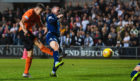 Louis Appere scoring against Dundee.
