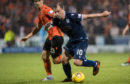 Paul McGowan in action against United.