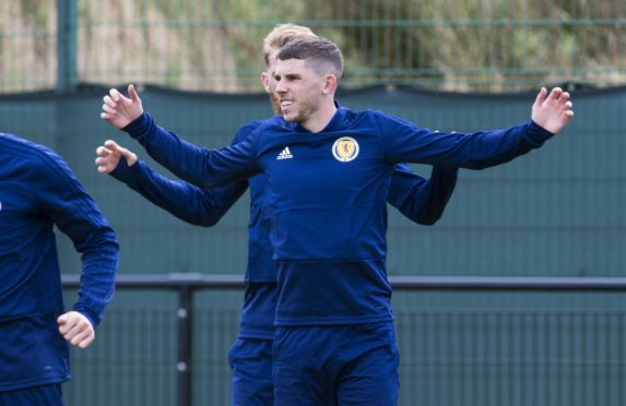 Ryan Christie: well armed for facing Belgium.