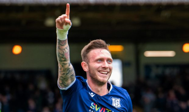 Dundee captain Jordan McGhee.