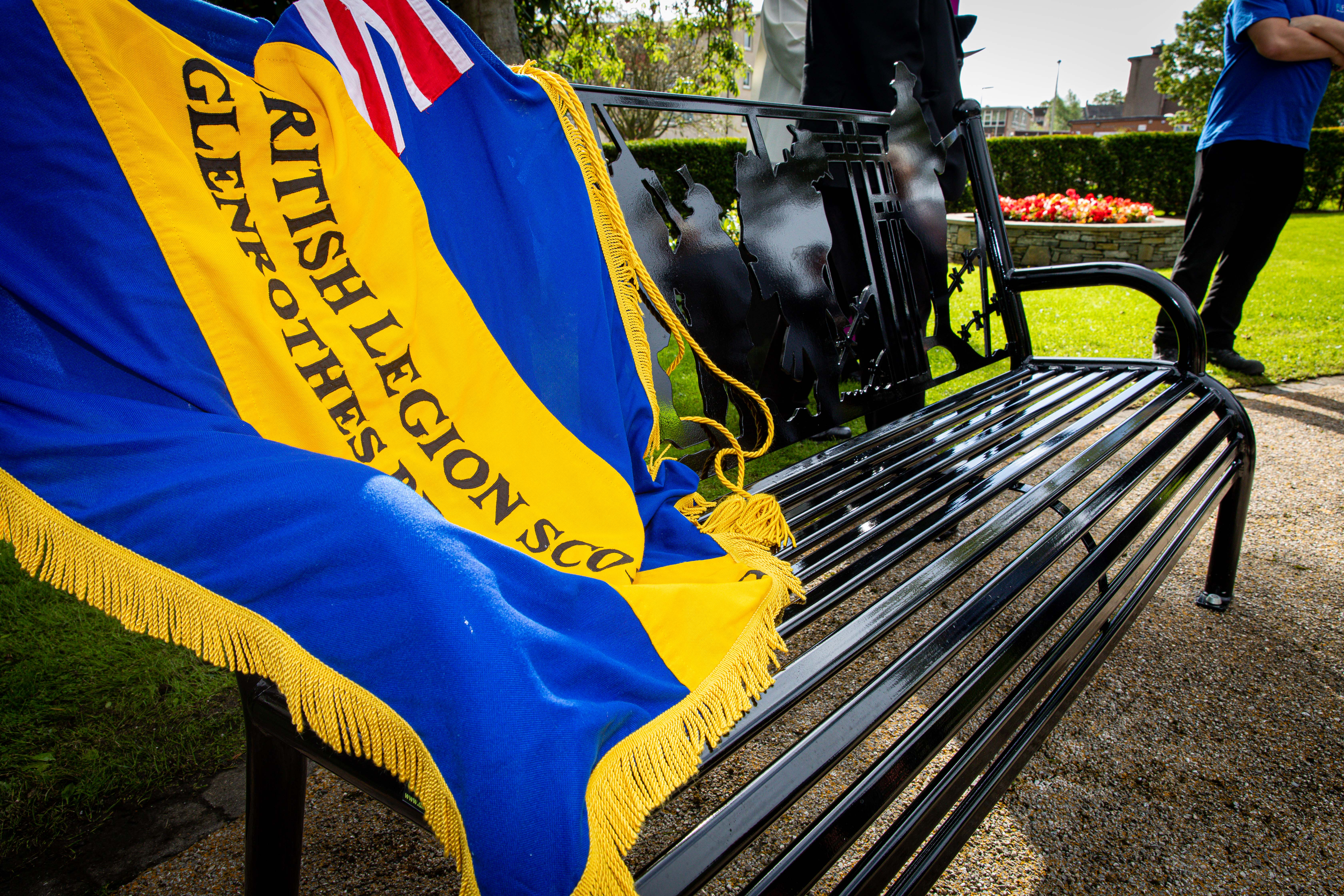 The latest addition to Glenrothes war memorial gardens.