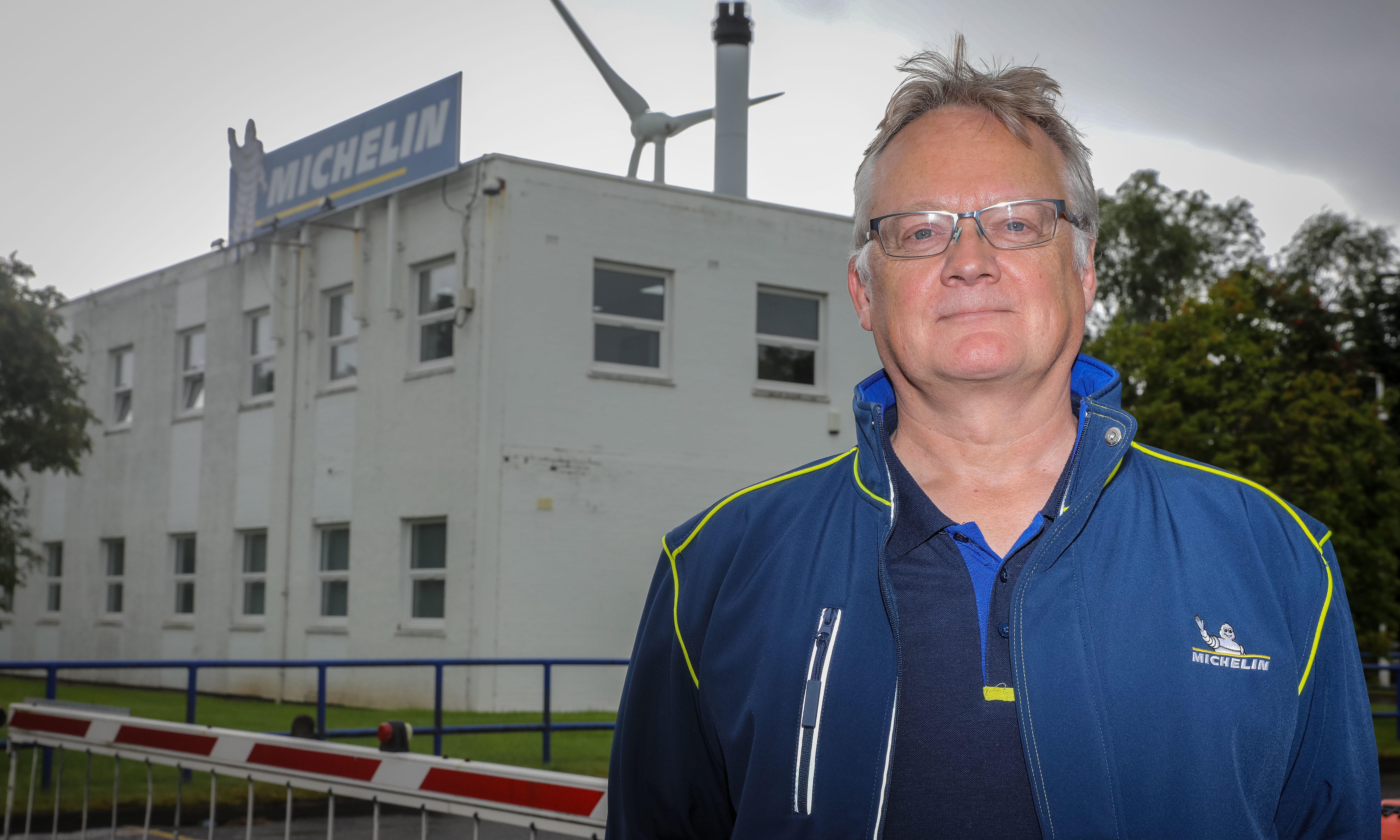 Michelin factory manager John Reid