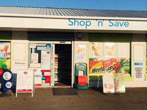 Shop 'n' Save was raided.