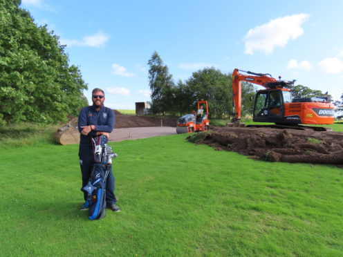 Tim MItchell, Glenalmond College's Head of Golf