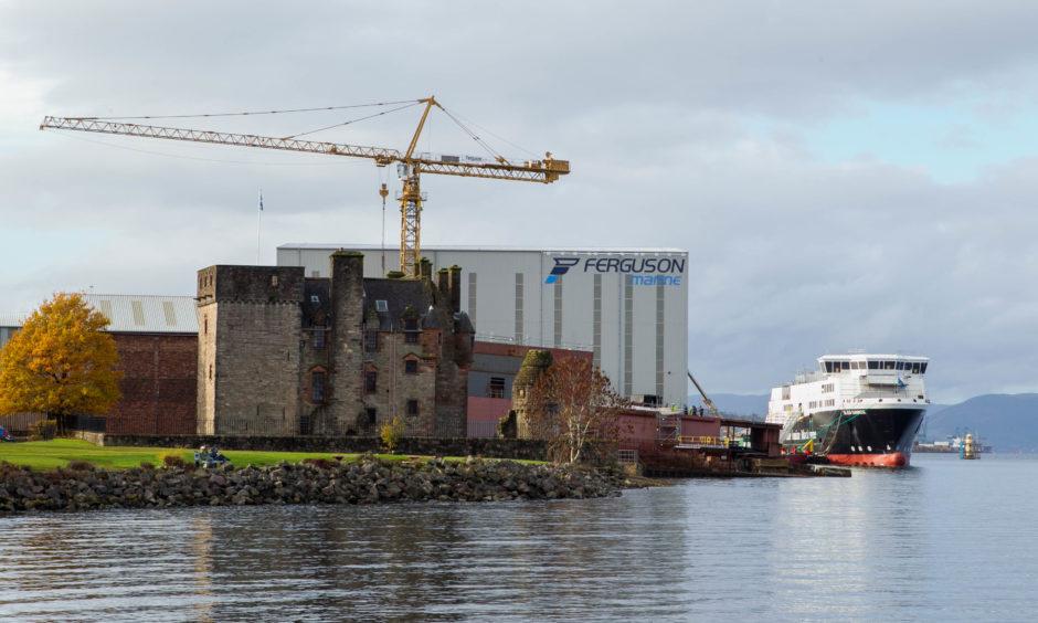 Ferguson Marine in Port Glasgow