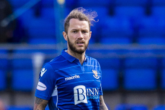 Stevie May missed out against Rangers in midweek.