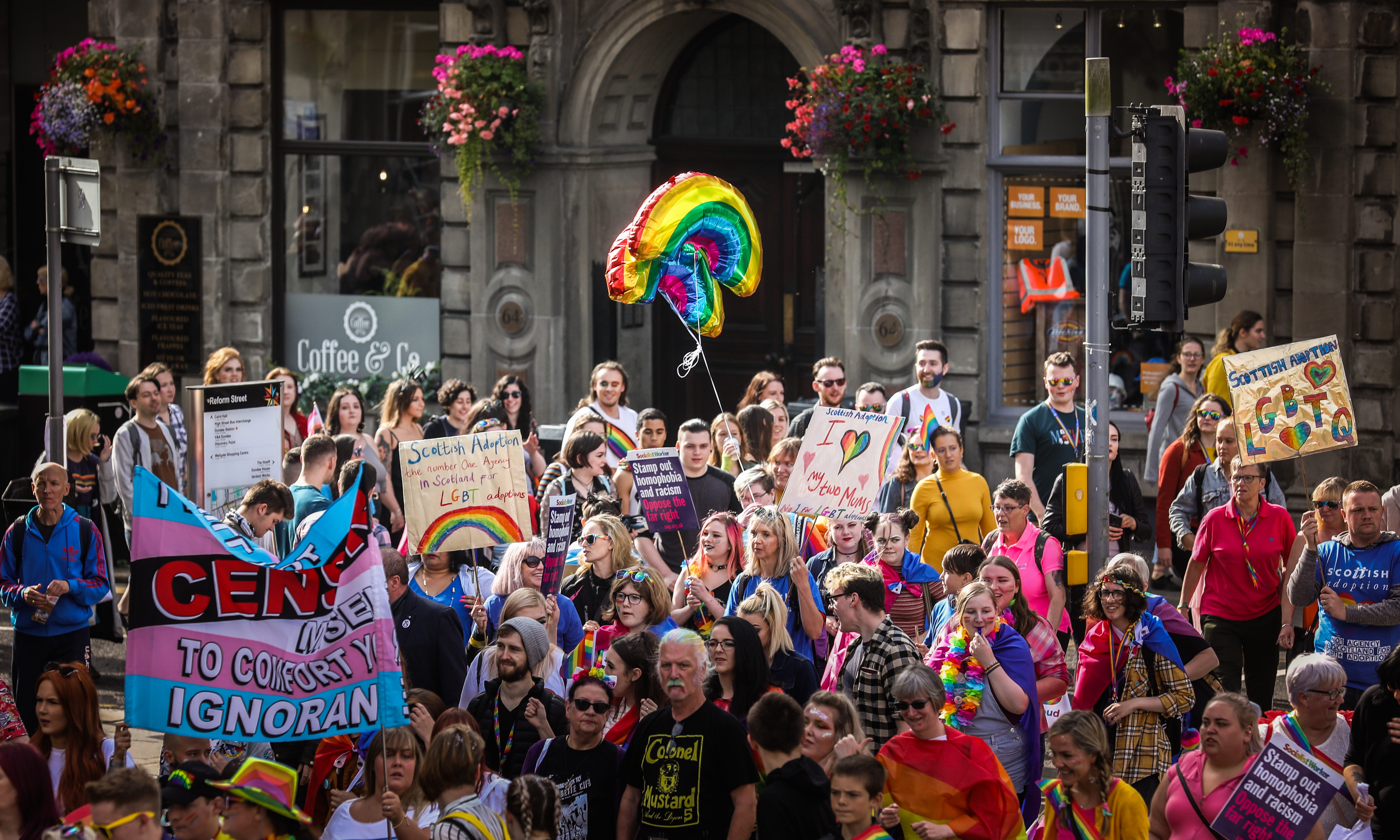 Dundee Pride in 2019.