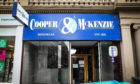 Menswear shop Cooper and McKenzie closed earlier this year in Dundee's Reform Street.