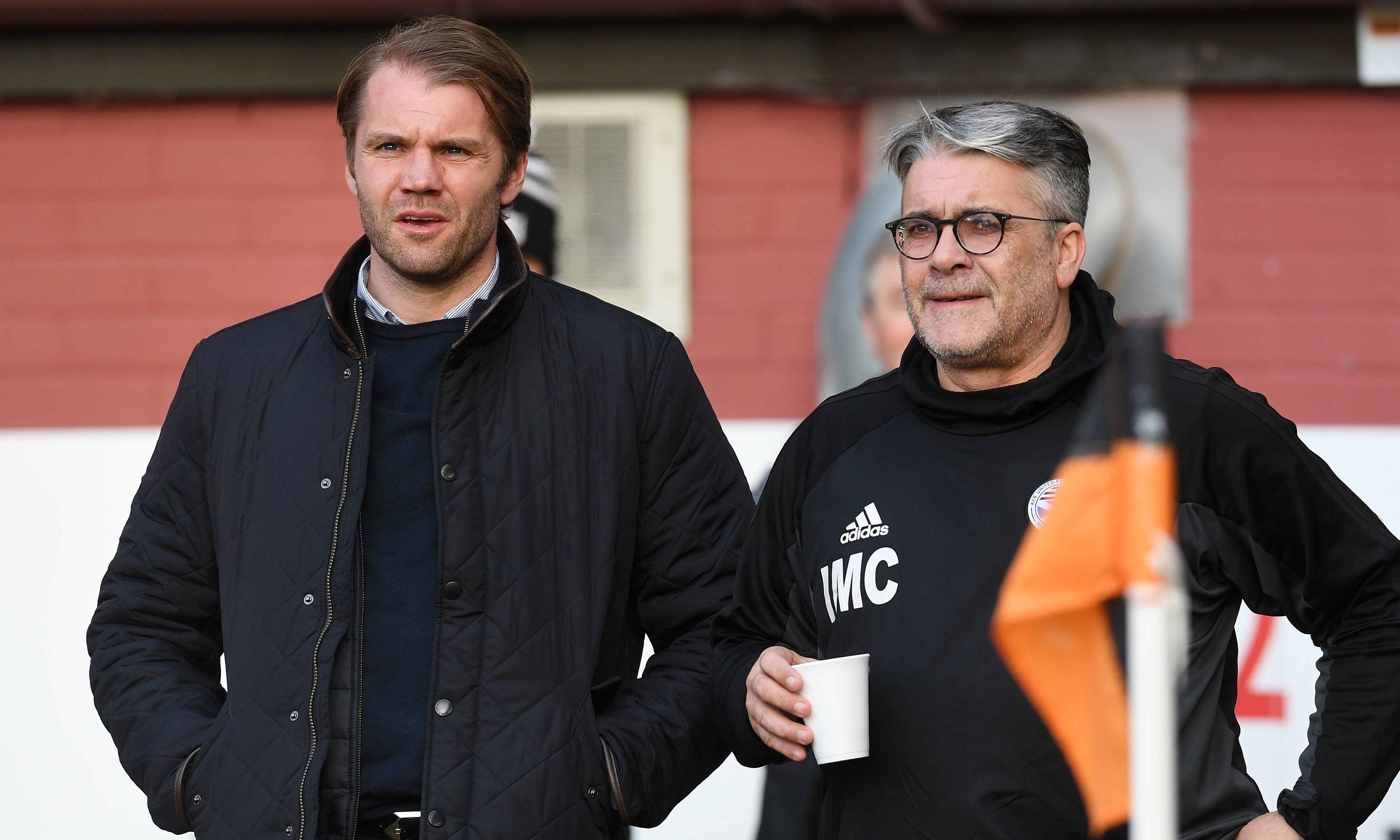 Robbie Neilson and Ian McCall.