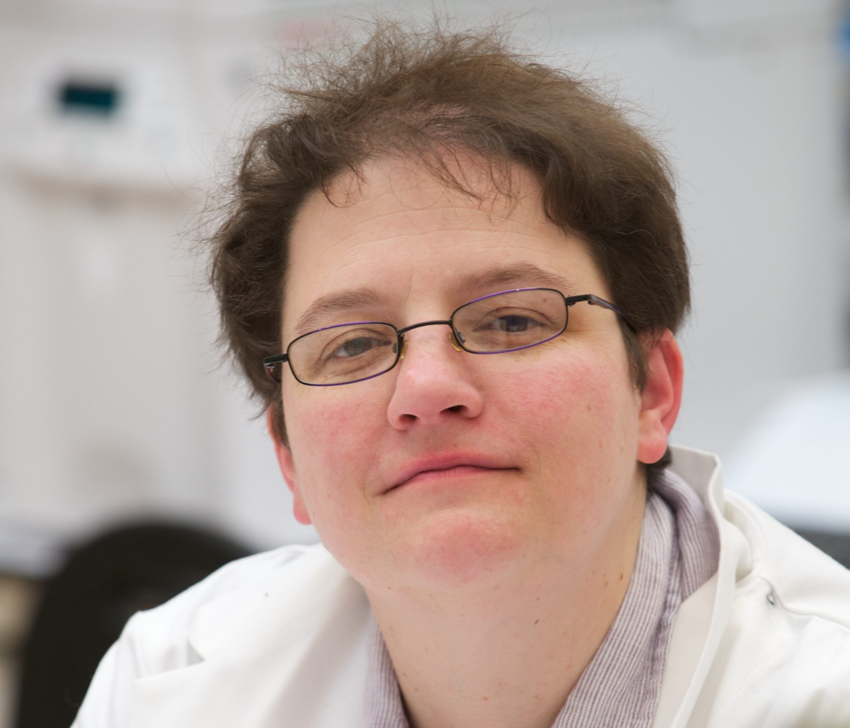 Forensic Science Professor Niamh Nic Daéid at Dundee University.