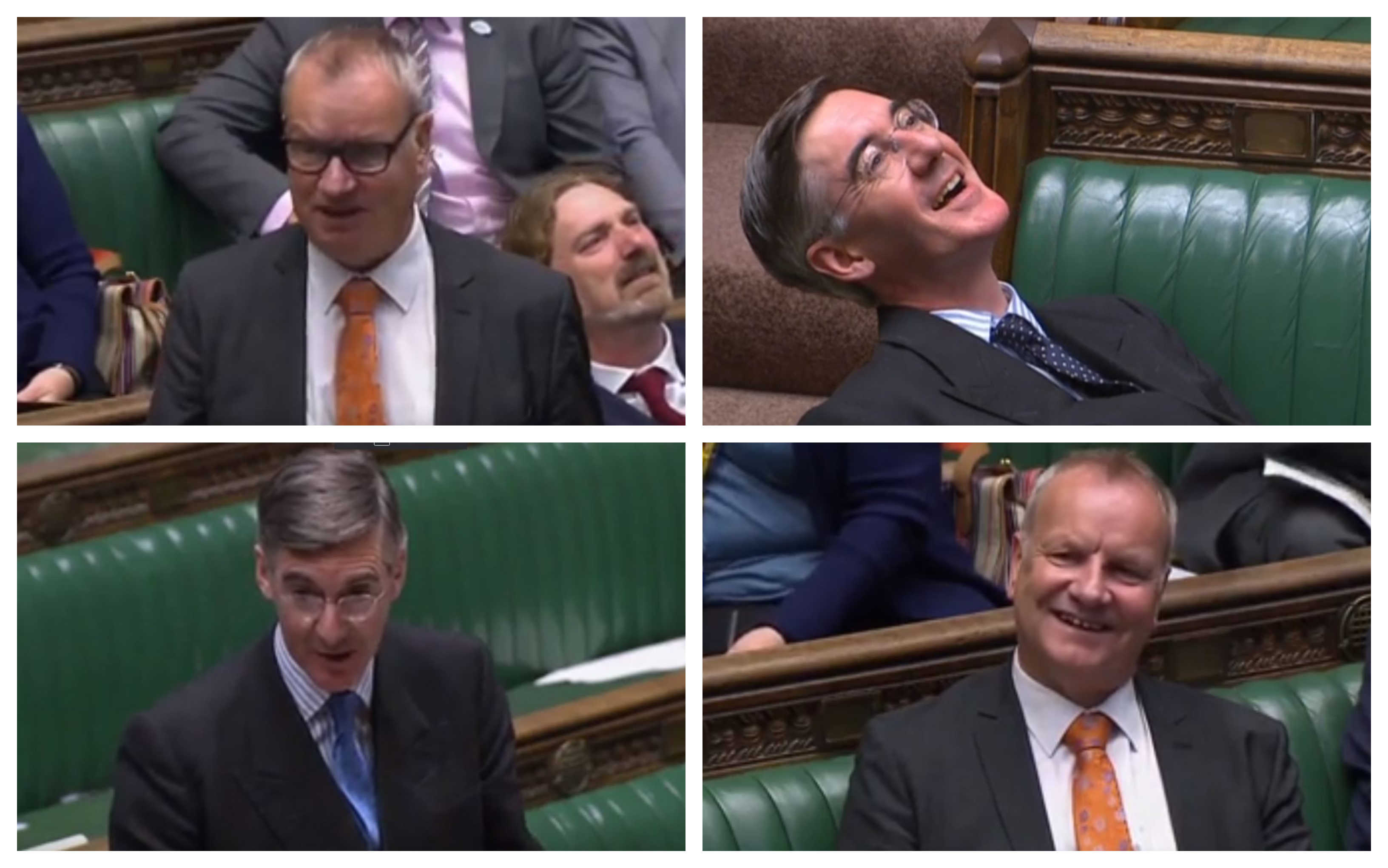 Jacob Rees-Mogg and Pete Wishart were involved in an exchange in the House of Commons.