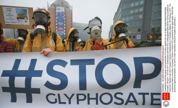 Environmentalists have long campaigned against the herbicide.