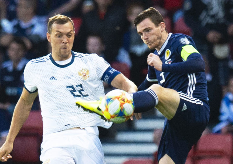 Andy Robertson is now Scotland captain