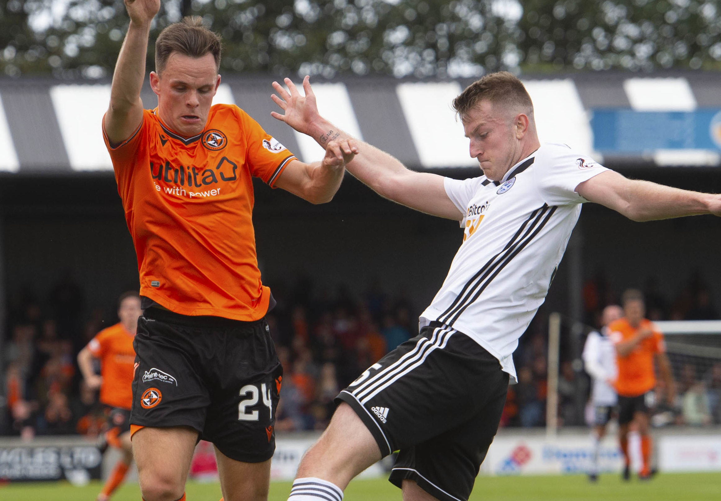 Lawrence Shankland in action.