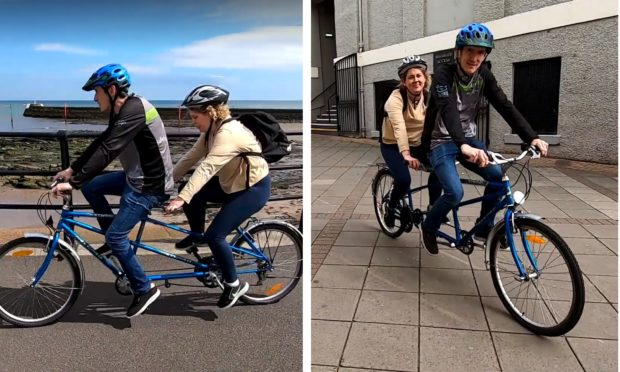 Councillor Lois Speed is planning to carry out community consultations on a tandem.