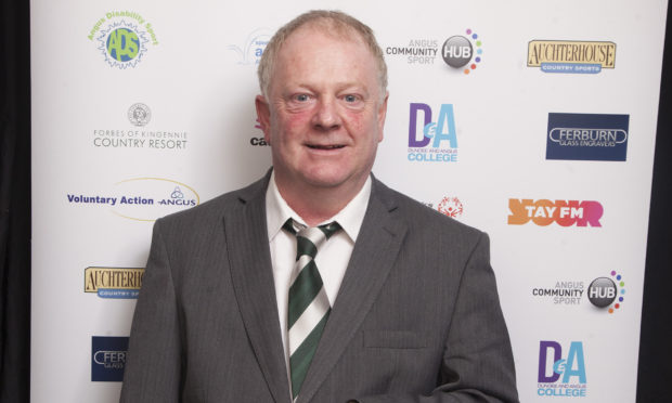 Gary Malone of Voluntary Action Angus.