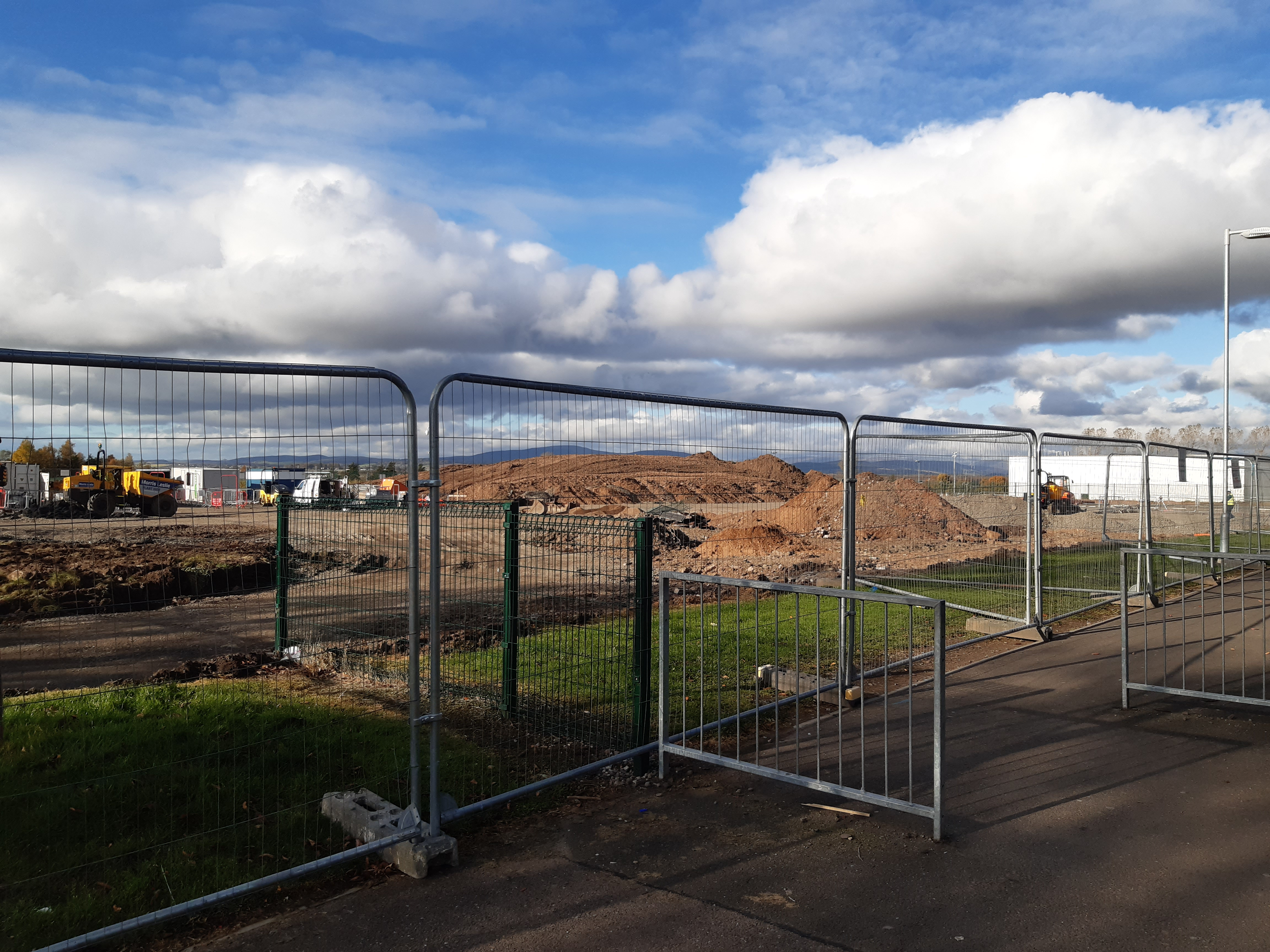 Work has started on the Forfar early years centre at the site of the town's former Academy.