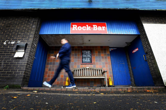 The Rock Bar in Menzieshill.