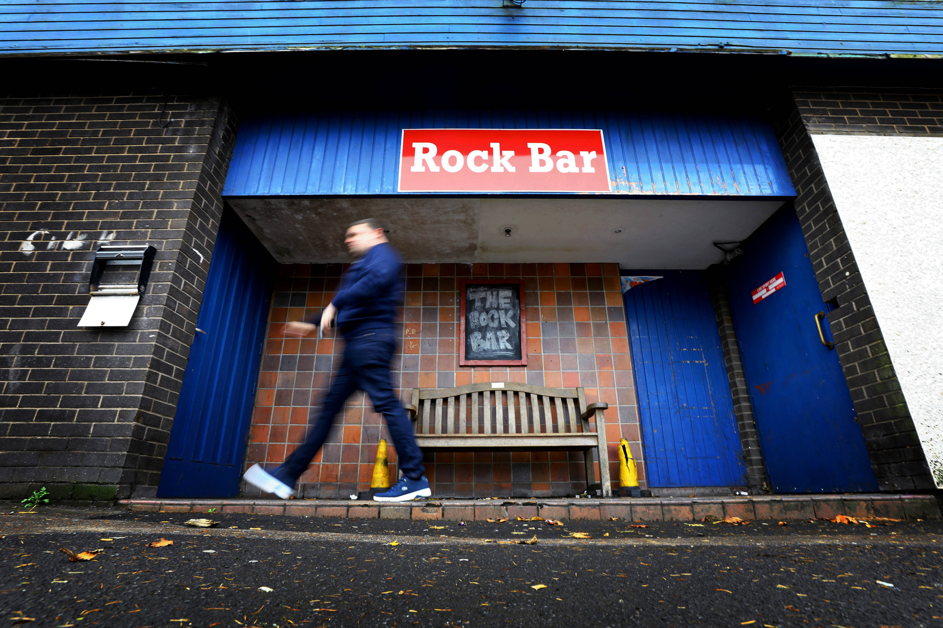 The Rock Bar in Menzieshill.