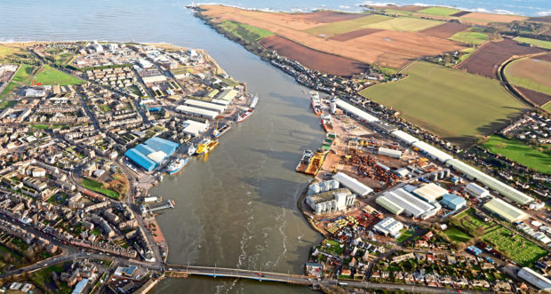 Montrose Port will benefit from the Seagreen project.