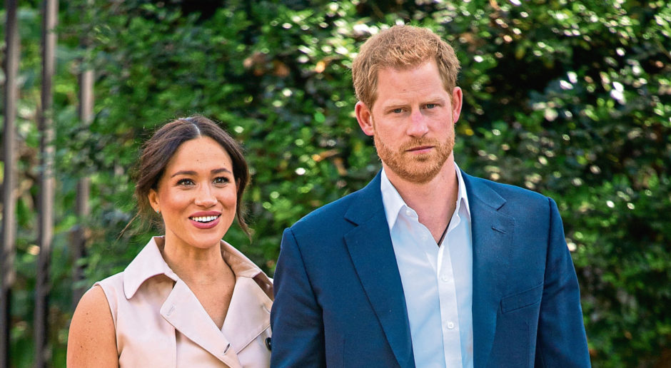 Harry and Meghan.