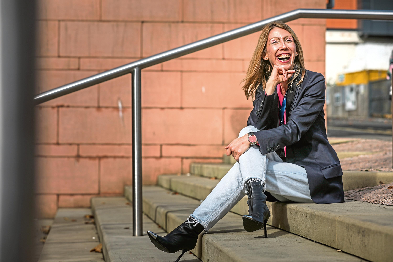 Zoe Chouliara, professor in mental health at Abertay University.