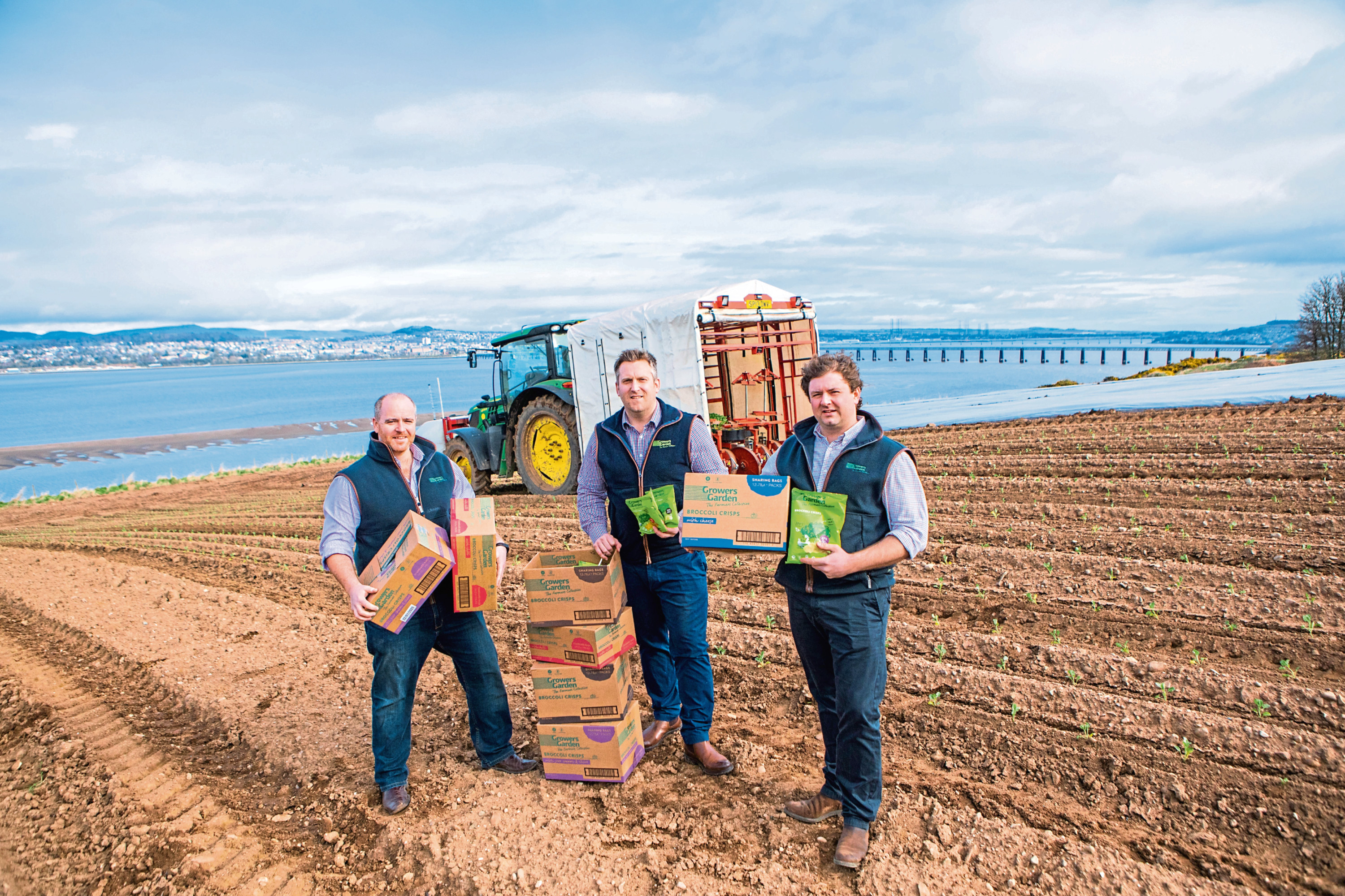 East of Scotland Growers have been praised for creating a broccoli crisp snack from waste produce.