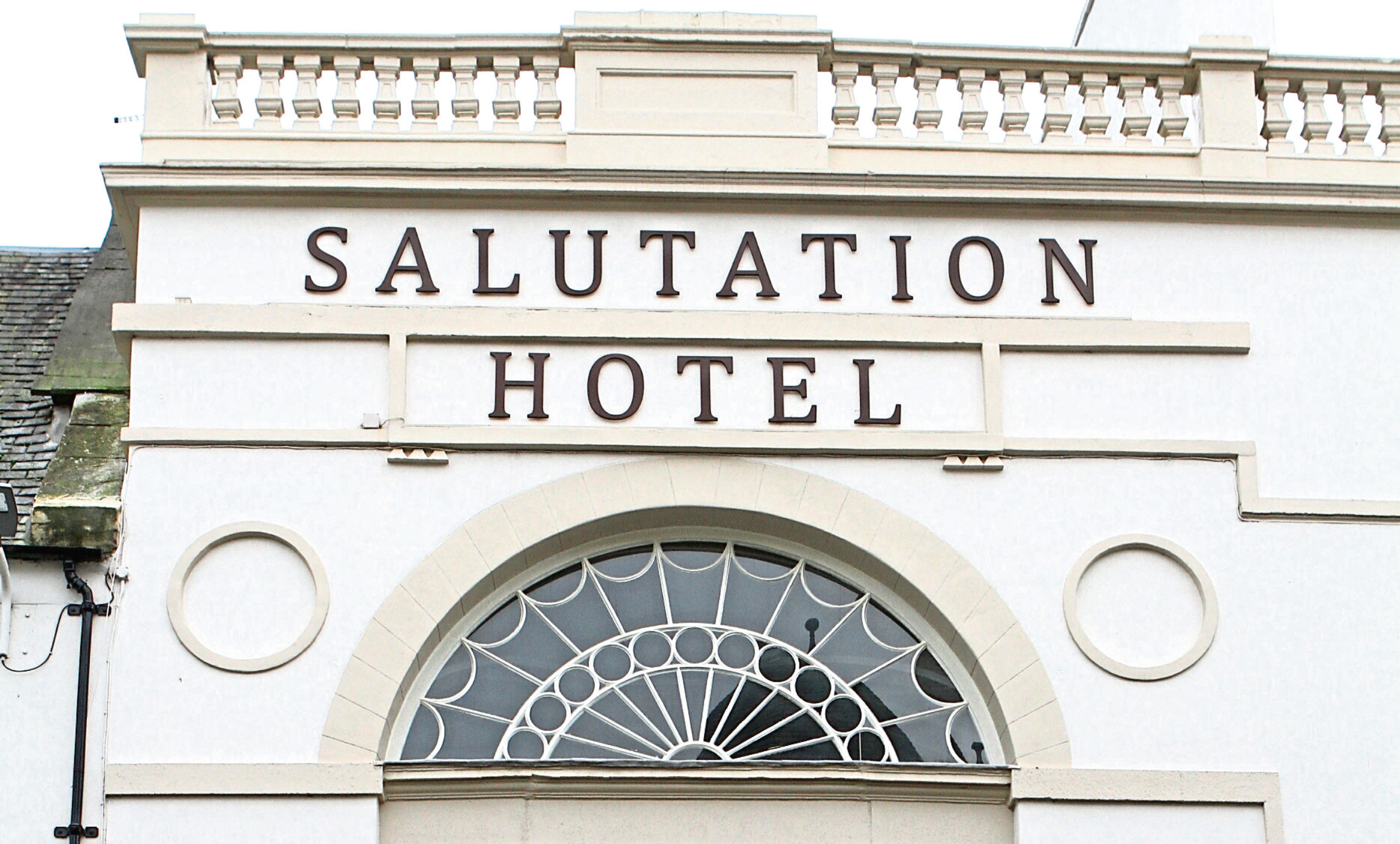 Courier News - Perth story - Winners & losers in rates changes - Perth. Picture shows; one of the losers in the rates changes, the Salutation Hotel in Perth.  Tuesday 20th December 2016.