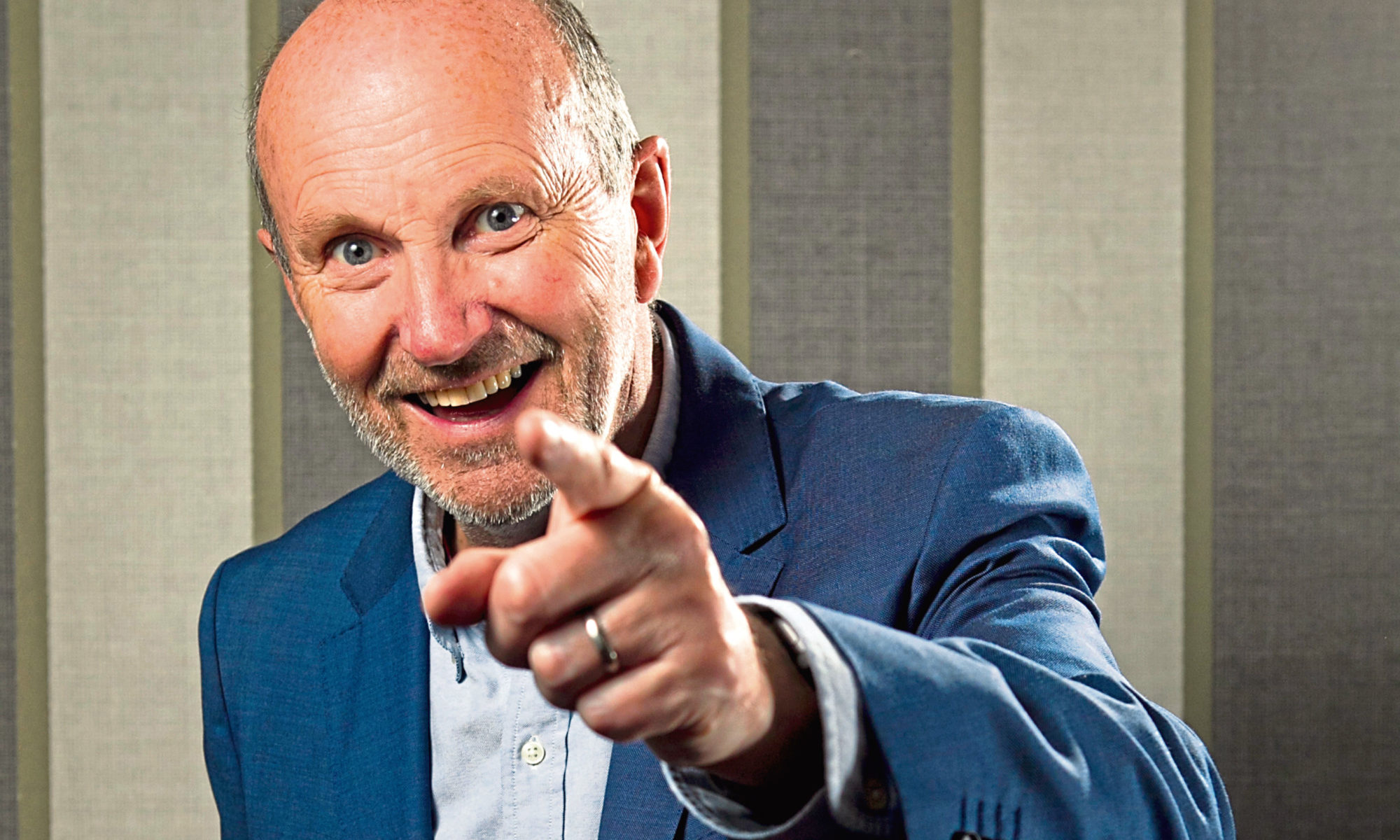 Scots comedian, Fred MacAulay