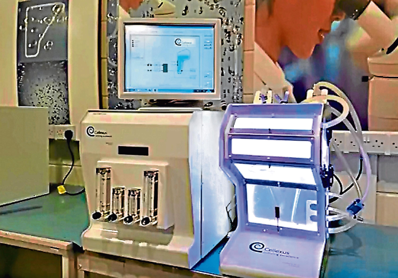 A Cellexus machine