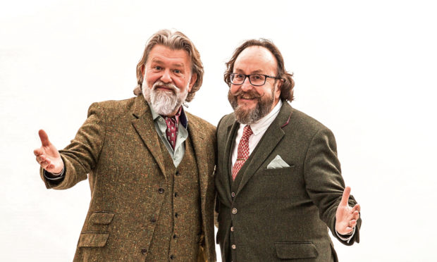 Hairy Bikers Si King and Dave Myers.