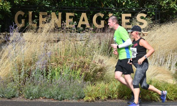 The Auchterarder Running Festival has sold out once again.