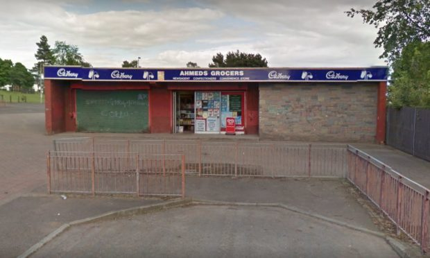 Ahmeds Grocers, Whitfield (stock image).